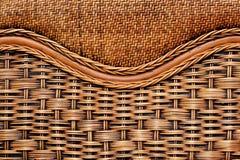 Fond de fin en osier de meubles  Photo stock