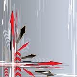 Fond de flèche illustration libre de droits