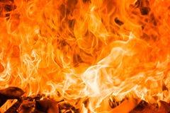 Fond de flambage de flamme du feu image libre de droits