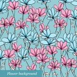 Fond de fleur illustration stock
