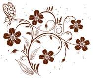 Fond de fleur illustration de vecteur