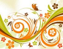 Fond de fleur Image libre de droits