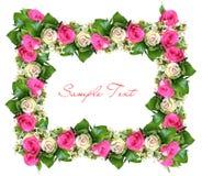 Fond de fleur avec la structure Images libres de droits