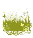 Fond de fleur avec le guindineau illustration de vecteur
