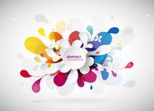Fond de fleur coloré par résumé Photographie stock libre de droits