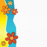 Fond de fleur d'été Images stock