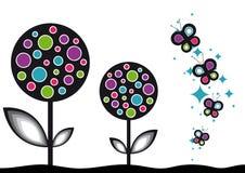 Fond de fleur de bruit Image libre de droits