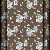 Fond de fleur de café de Brown Image stock