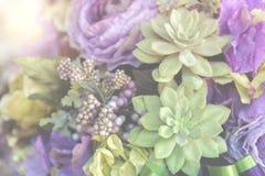 Fond de fleur de cru Photos stock
