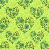 Fond de fleur de source Photo stock