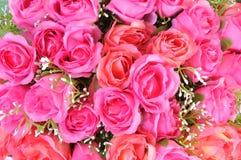 Fond de fleurs artificielles Images libres de droits