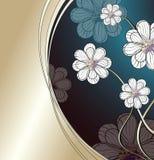 Fond de fleurs blanches Images stock