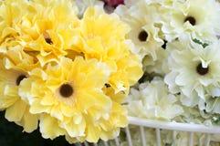 Fond de fleurs et de pétales Photographie stock