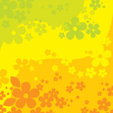 Fond de fleurs (illustration) Photo stock