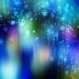 Fond de flocon de neige photos libres de droits