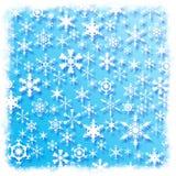 Fond de flocon de neige Images stock