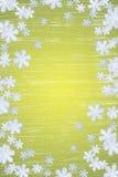 Fond de flocon de neige de l'hiver Photographie stock