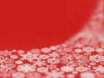 Fond de flocon de neige de Noël Photos stock