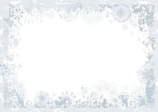 Fond de flocon de neige, vecteur Images stock