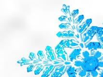 Fond de flocon de neige de Noël d'hiver Images stock