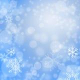 Fond de flocons de neige Photo libre de droits
