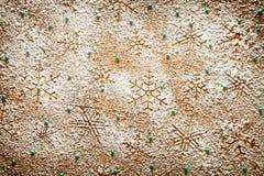 Fond de flocons de neige Photos libres de droits