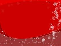Fond de flocons de neige illustration stock