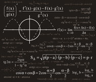 Fond de formules Image stock