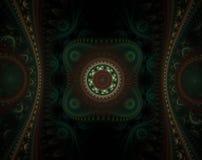 Fond de fractale Photographie stock
