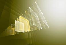Fond de fractale d'Abstact semblable au flou d'horreur Photographie stock