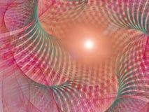 Fond de fractale - imagination du soleil illustration libre de droits