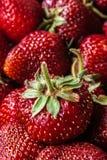 Fond de fraise Photographie stock