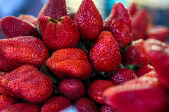 Fond de fraise image libre de droits