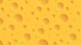 Fond de fromage de mouvement de longueur animation 4K illustration stock