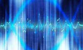 Fond de fréquence Image libre de droits
