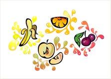 Fond de fruit Photo libre de droits