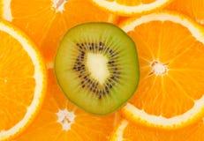 Fond de fruit Photos libres de droits