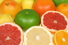 Fond de fruit Photos stock