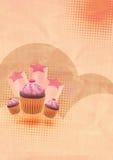 Fond de gâteau de réception Images libres de droits
