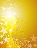 Fond de gagnant de récompense Image stock