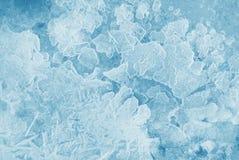 Fond de glace Photos libres de droits