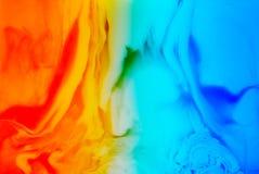 Fond de glace et de flamme Photographie stock libre de droits