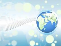 Fond de globe Photos libres de droits