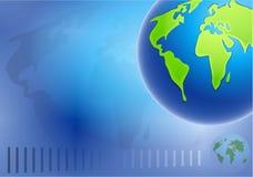 Fond de globe illustration libre de droits