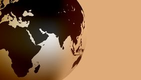 Fond de globe du monde Illustration de vecteur illustration libre de droits