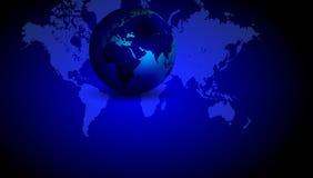 Fond de globe du monde Illustration de vecteur illustration de vecteur