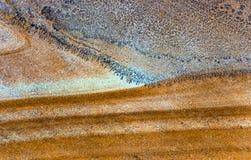 Fond de grès avec une texture et un soulagement bien définis Photo libre de droits