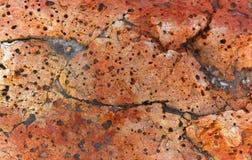 Fond de grès avec une texture et un soulagement bien définis Images stock