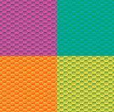 Fond de gradient avec l'hexagone de modèle Images stock