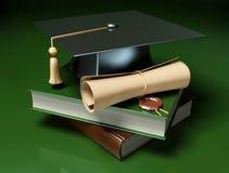 Fond de graduation Images libres de droits